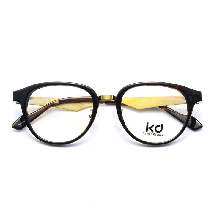 KD设计师手制板材金属眼镜kc7002-C03