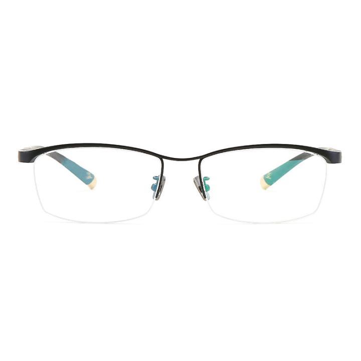 HAN TITANIUM光学眼镜架CY1003 C1哑黑