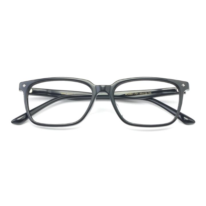 HAN板材光学眼镜架-经典亮黑(HD4957-F01)
