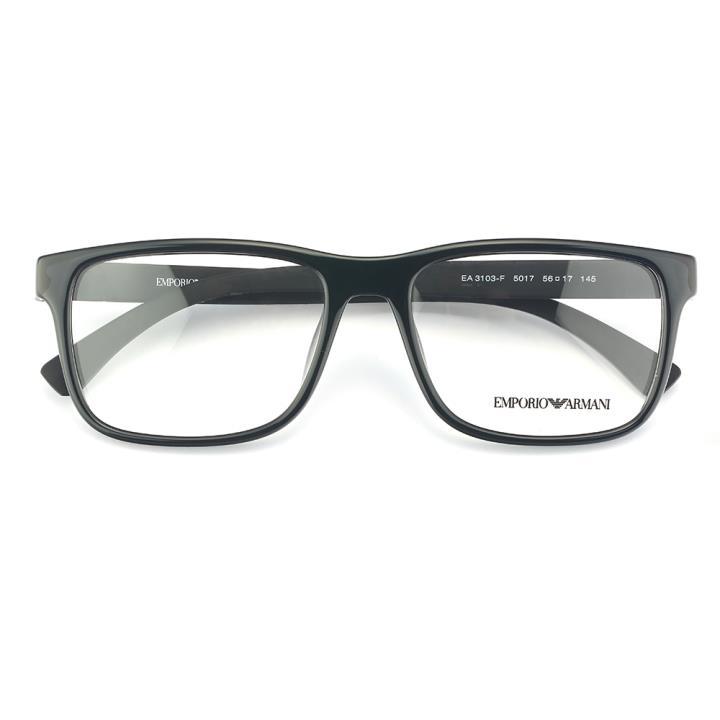EMPORIO ARMANI框架眼镜0EA3103F 5017 56  亮黑