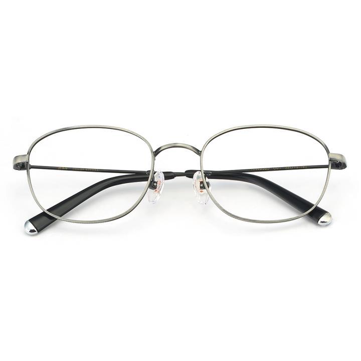 HAN合金光学眼镜架-银灰色(HN49365-C01)