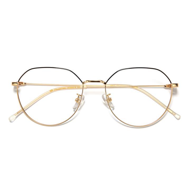 HAN COLLECTION光学眼镜架HN45021S C1 半黑/金框