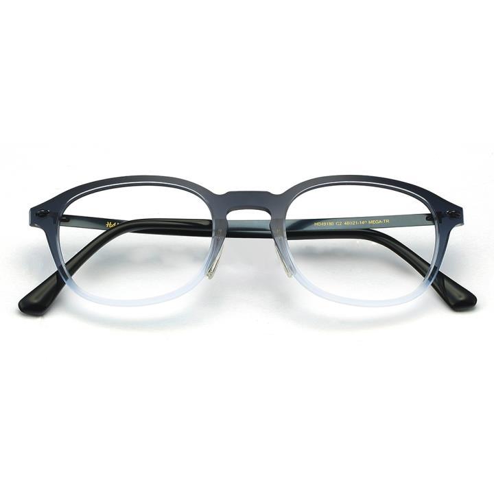 HAN MEGA-TR钛塑光学眼镜架-渐进蓝(HD49180-C2)