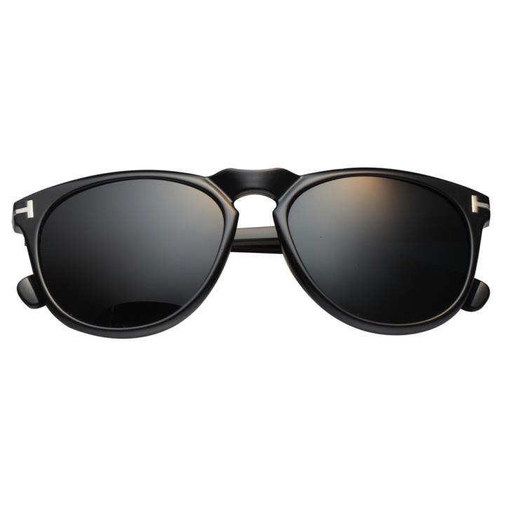 HAN时尚偏光太阳镜HD2920-S01 黑框黑灰片(HD2920-S01)