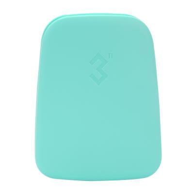 3N科技12宫格隐形眼镜抗菌收纳盒蓝色