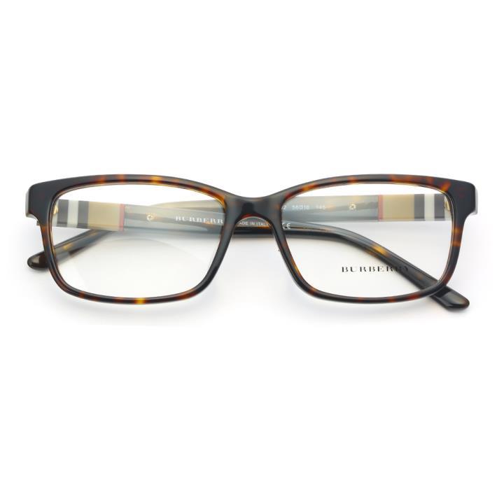 BURBERRY框架眼镜0BE2206D 3002 56 玳瑁色