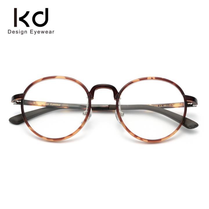 KD时尚光学眼镜架KD71400-C3 玳瑁