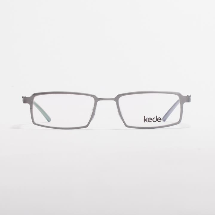Kede时尚光学眼镜架Ke1420-F09  银色