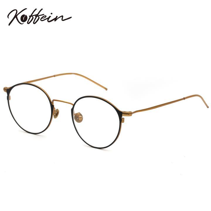 Koffein光学眼镜架Dorothy COL.1 黑/金