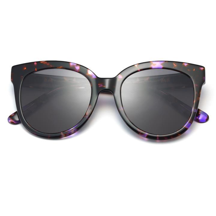HAN RAZR-X9板材防UV太阳眼镜-紫玳瑁黑灰片(HD59208-S08)