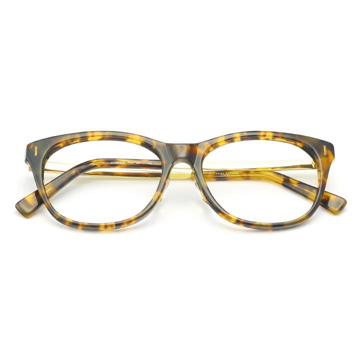 HAN醋酸纤维白铜光学眼镜架-玳瑁色(HD49309-F03)