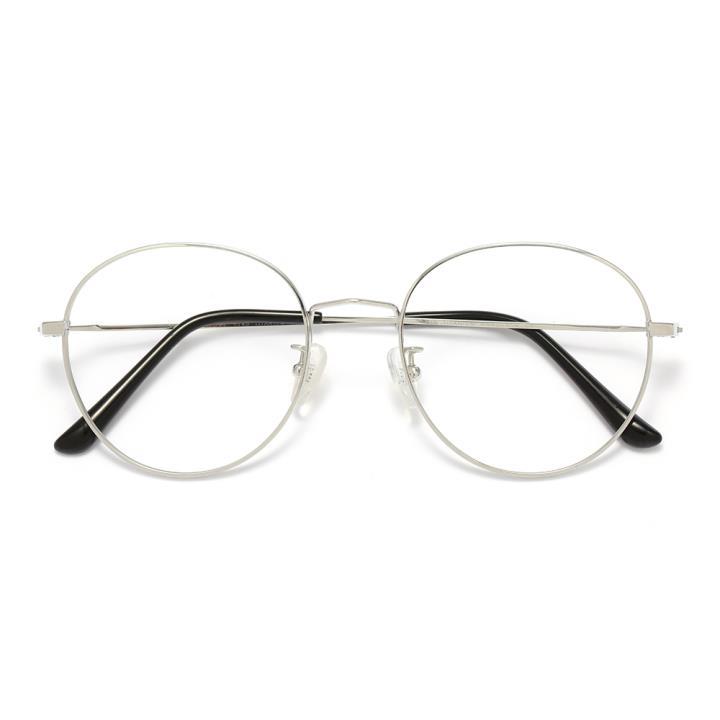 HAN TITANIUM纯钛光学眼镜架HN42090M C6 银色