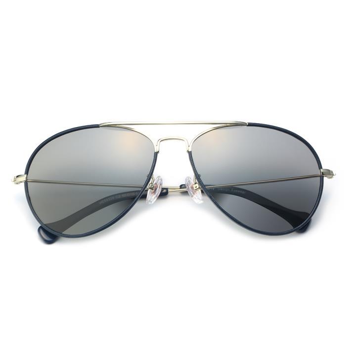 HAN不锈钢偏光太阳镜-银框灰色片(HD59329-C2 )