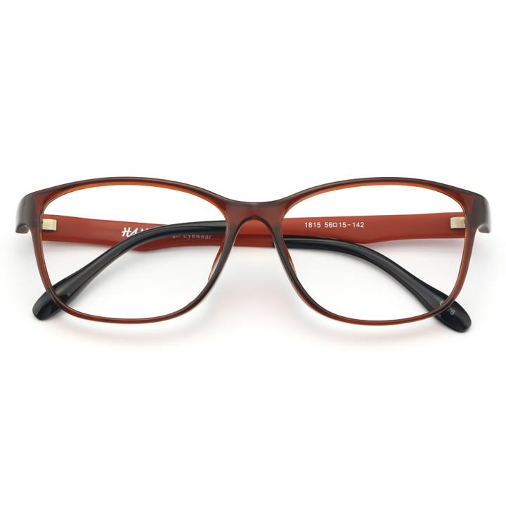HAN MEGA-TR钛塑光学眼镜架-靓丽酒红(1815-C576)