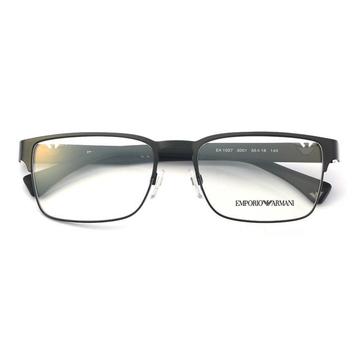 EMPORIO ARMANI框架眼镜0EA1027 3001 55 黑色