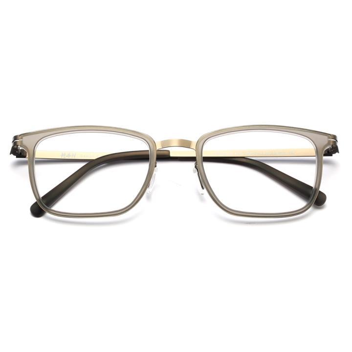 HAN时尚光学眼镜架HD4805-F16 冷酷枪灰