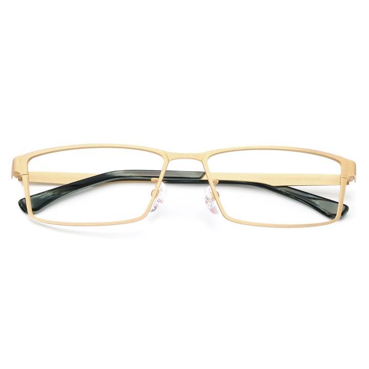 HAN纯钛光学眼镜架-高雅金(HD49118-F18)