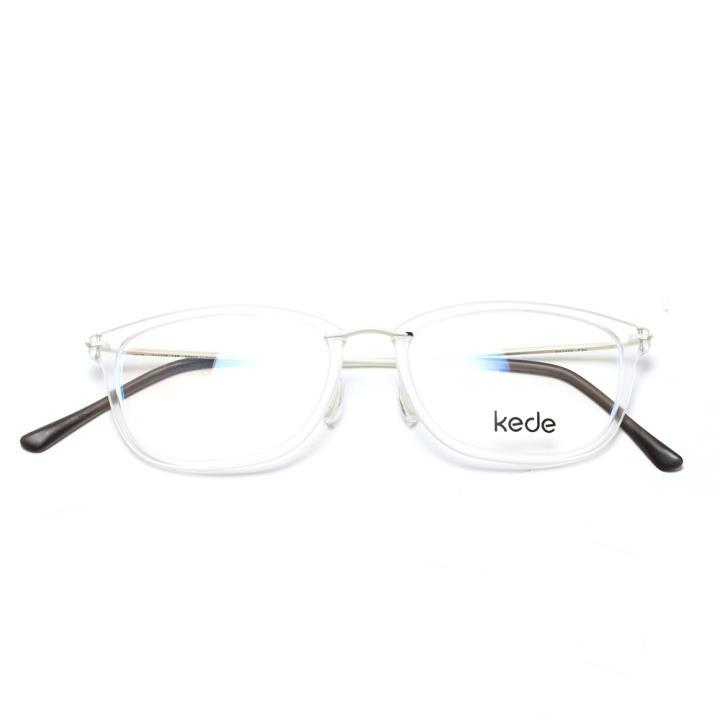 Kede时尚光学眼镜架Ke1452-F24 透明