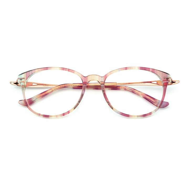 HAN板材时尚光学眼镜架-花色紫(HD4904-F10)