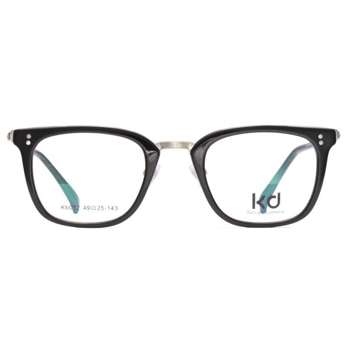 KD设计师手制板材金属眼镜kb012-C07