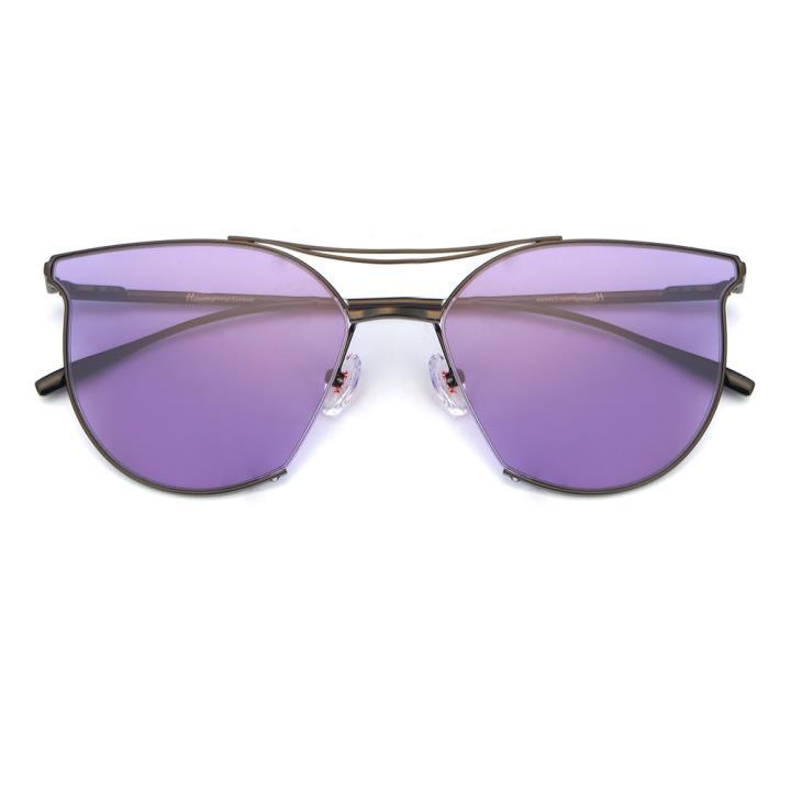 HAN不锈钢防紫外线太阳镜-新贵紫(HD59120-S08)