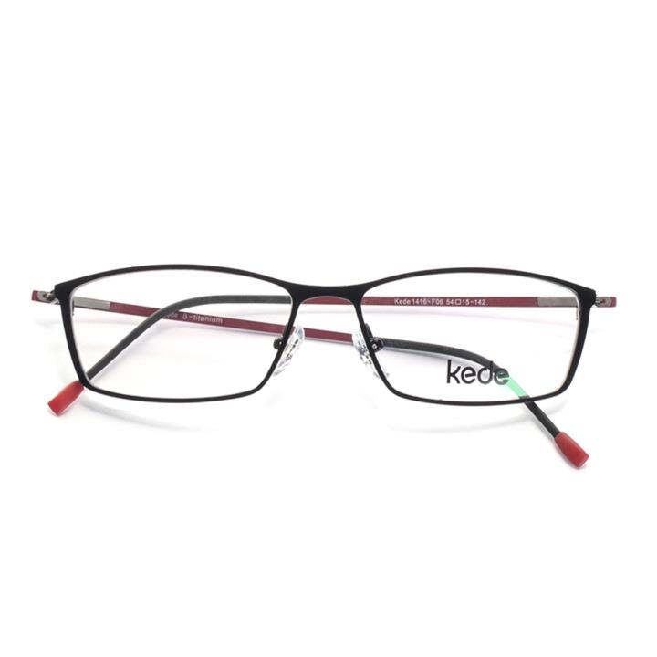 Kede时尚光学眼镜架Ke1416-F06  红色
