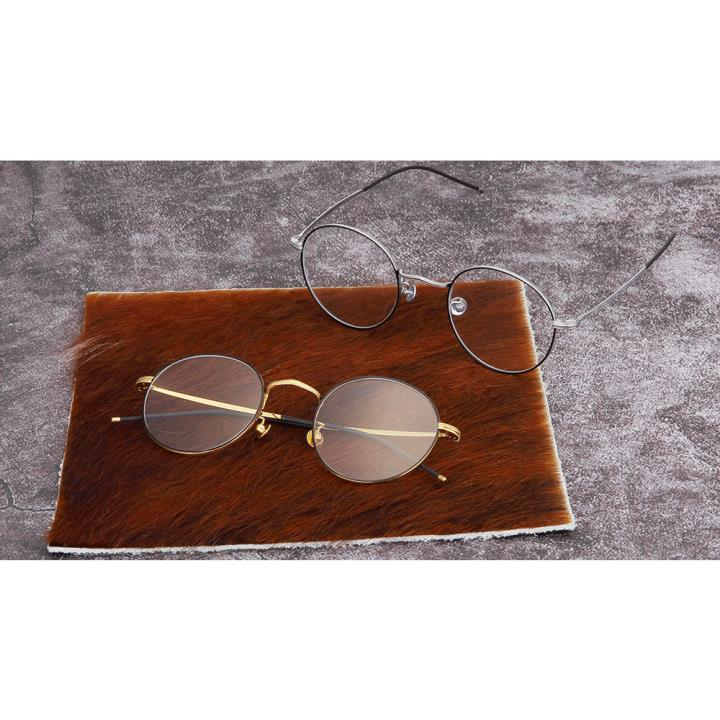 HAN COLLECTION纯钛光学眼镜架-优雅黑银(HN43004 C2)