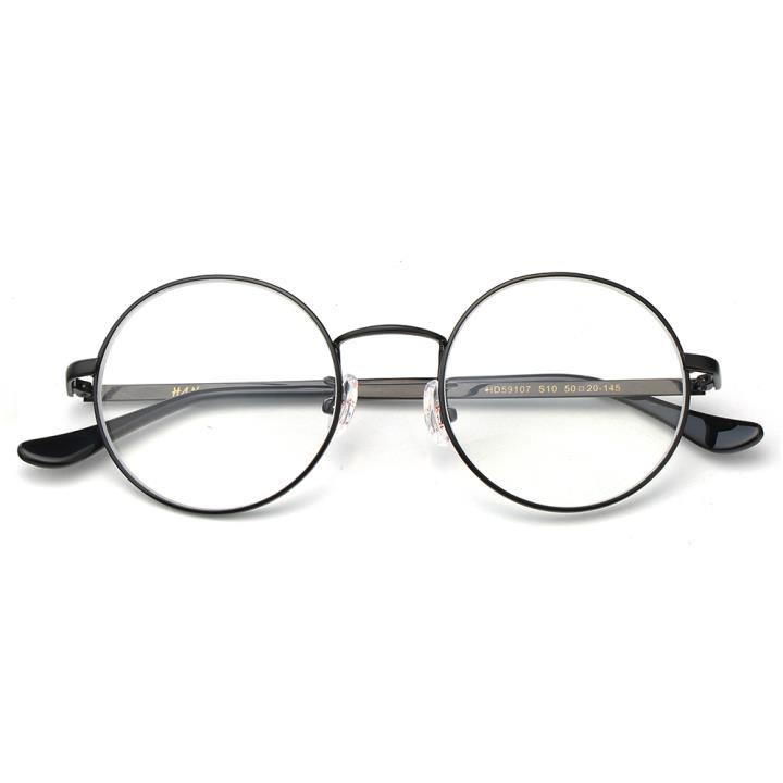 HAN时尚光学眼镜架HD59107-S10 黑框