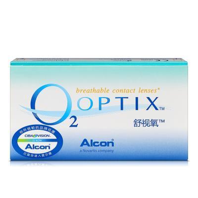 爱尔康视康舒视氧硅水凝胶月抛隐形眼镜3片装