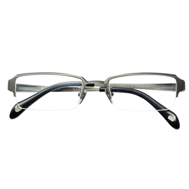 HAN纯钛光学眼镜架-哑枪小码(HD4830-F12)小脸适用