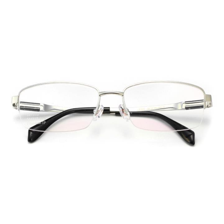 HAN时尚光学眼镜架J81553-C2亮银色