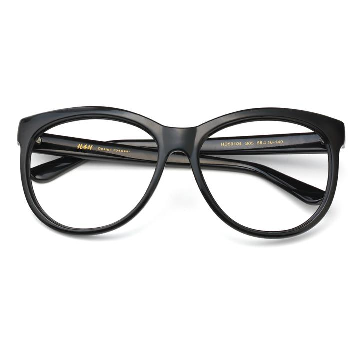 HAN时尚光学眼镜架HD59104-S05 黑框