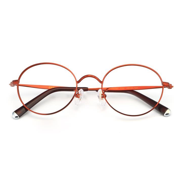 HAN合金光学眼镜架-典雅红色(HN49362-C03)