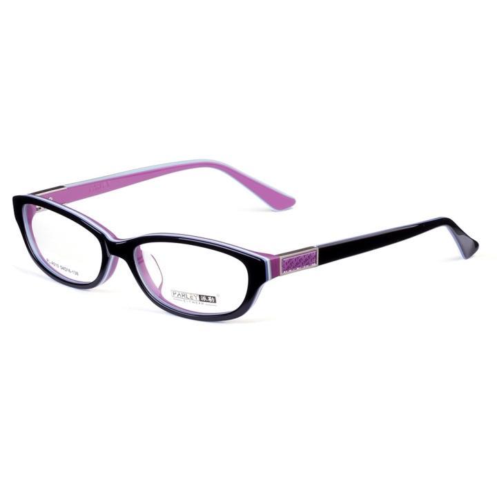 PARLEY派勒板材眼镜架-黑紫双色(PL-A010-C4)