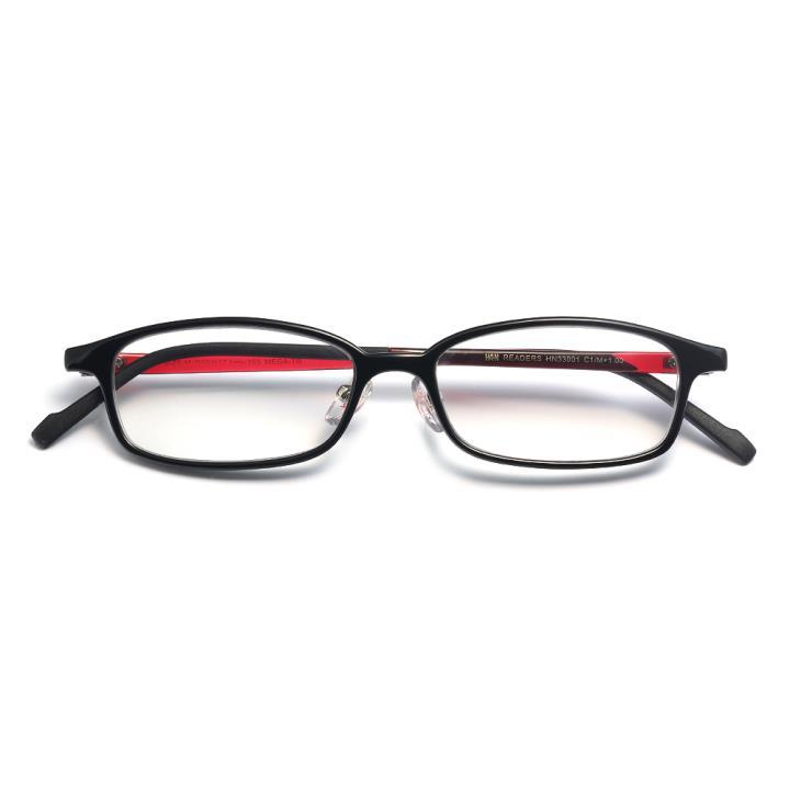 HAN READERS TR阅读老光眼镜-黑红色(HN33001 C01/M)