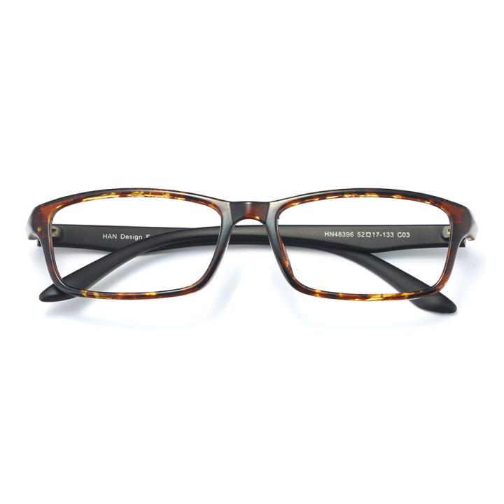 HAN MEGA-TR钛塑光学眼镜架-玳瑁(HN48396-C03)