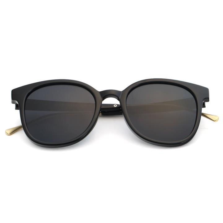 HAN时尚偏光太阳镜HD5810-S01 黑框黑灰片