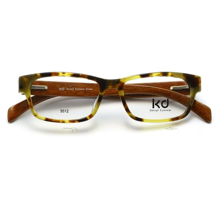 KD设计师手制板材木质眼镜5012 玳瑁棕