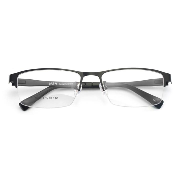 HAN不锈钢光学架- 哑黑色(M989-C01)