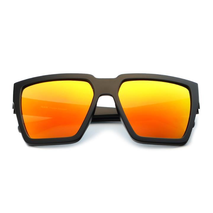 HAN时尚偏光太阳镜HD59307-S13 黑框橘色片