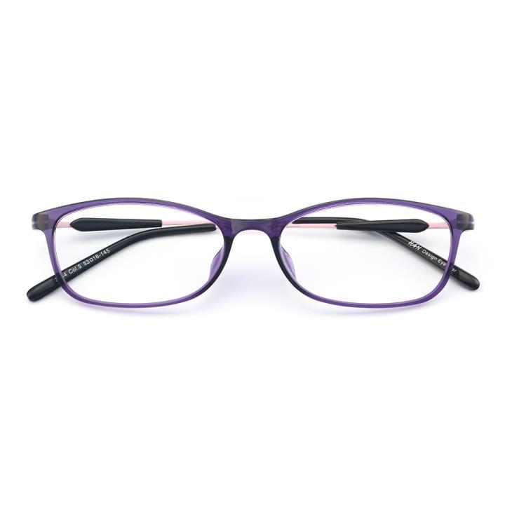 HAN MEGA-TR钛塑光学眼镜架-新贵淡紫(3334-C5)