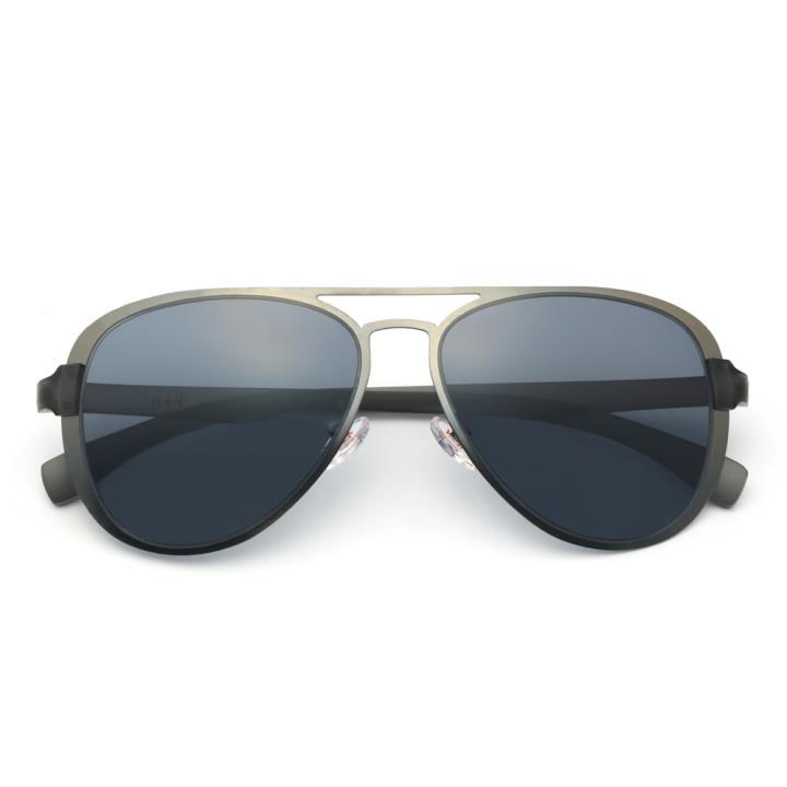 HAN不锈钢尼龙防紫外线太阳镜- 枪框灰片(HD59114-S12)