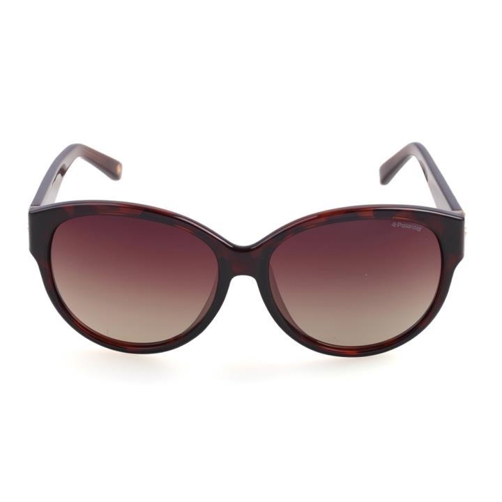 Polaroid宝丽来时尚板材偏光太阳眼镜A8310-B 棕色