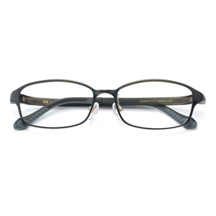 HAN时尚光学眼镜架HN49410-C1 黑