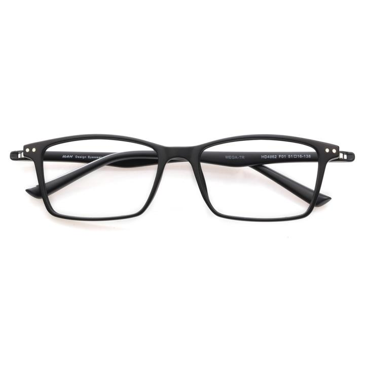 HAN时尚光学眼镜架HD4862-F01 经典纯黑