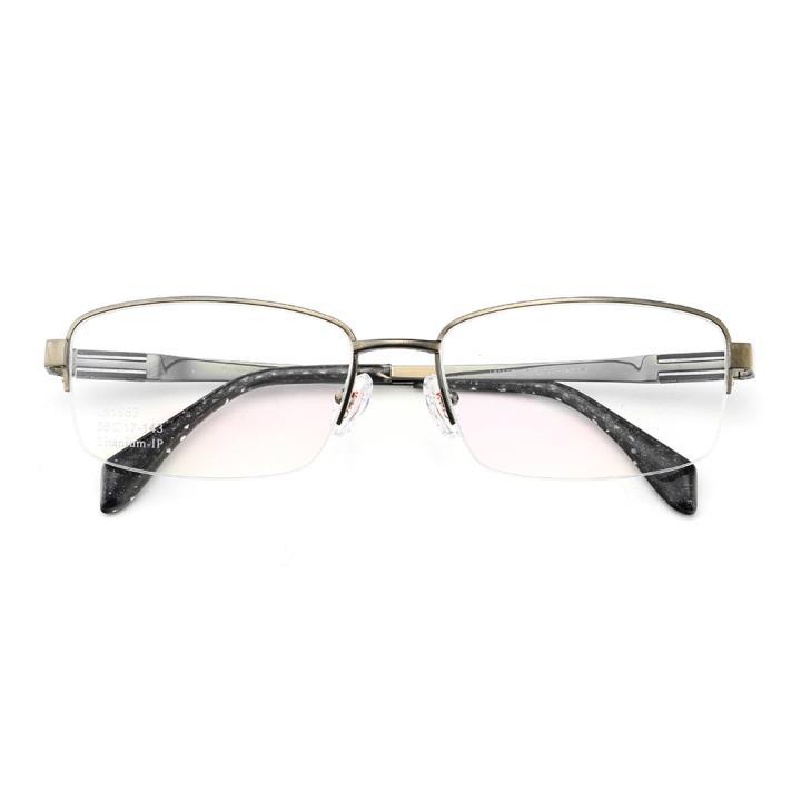 HAN时尚光学眼镜架J81553-C3哑枪色