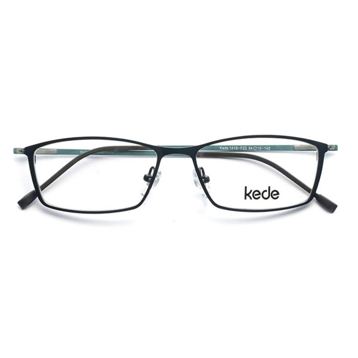 Kede时尚光学眼镜架Ke1416-F022 天蓝色