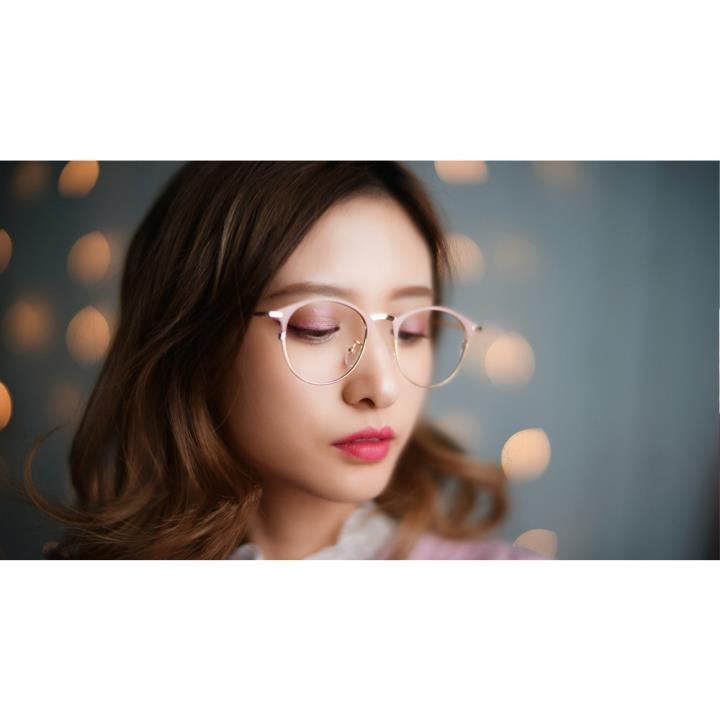 HAN COLLECTION 金属光学眼镜架-金属裸粉(HN42060M C4)