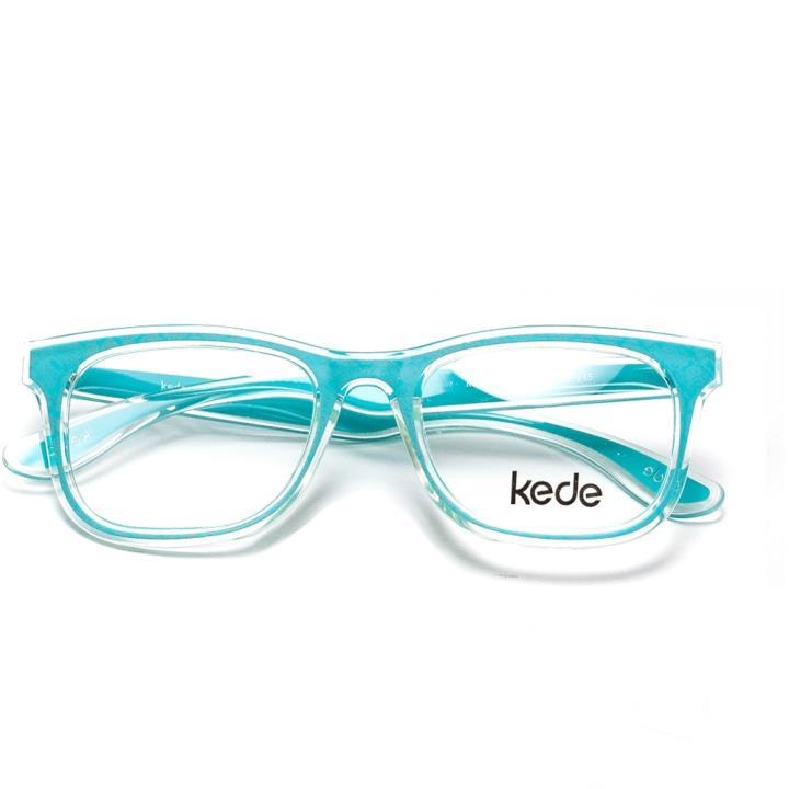 Kede时尚光学眼镜架Ke1409-F07  蓝色