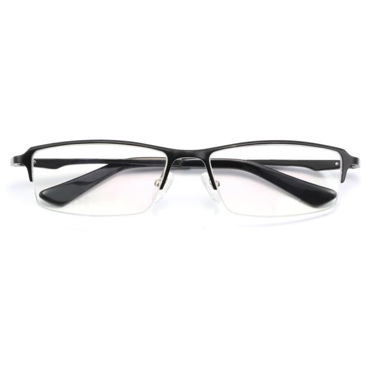 HAN铝镁合金光学眼镜架-经典亮黑(HD4938-F01)